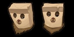 Cat in Paper Bag Mask Curseur