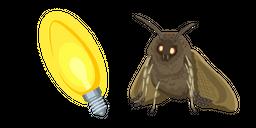 Moth Lamp Meme Cursor