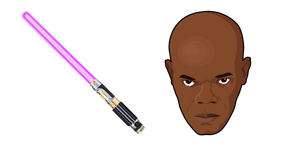 Курсор Star Wars Mace Windu Lightsaber
