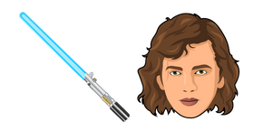 Star Wars Anakin Skywalker Lightsaber Cursor