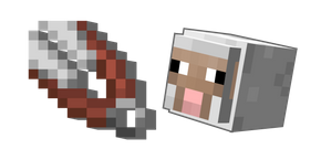Minecraft Shears and Sheep Cursor