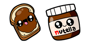 Cute Nutella Curseur