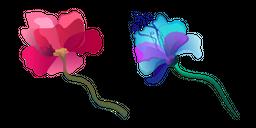 Aquarelle Flower Cursor