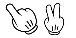 Disney Hand Curseur