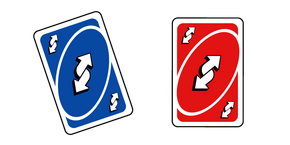 Курсор Uno Reverse Card Meme