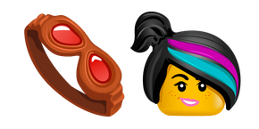 The LEGO Movie Wyldstyle Cursor