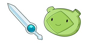 Курсор Adventure Time Fern Finn Sword