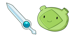 Adventure Time Fern Finn Sword Cursor