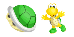 Super Mario Koopa Troopa Cursor