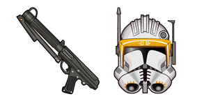Курсор Star Wars Commander Cody DC-15A Blaster Carbine