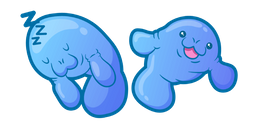 Cute Elephant Seal Curseur