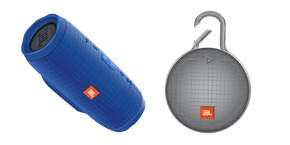 JBL Charge 3 and JBL CLIP 3 Cursor