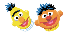 Курсор Sesame Street Bert and Ernie