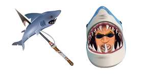 Fortnite Chomp Sr. Skin Chomp Jr. Pickaxe Curseur