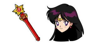 Sailor Moon Sailor Mars Stick Curseur