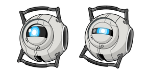 Portal 2 Wheatley Curseur