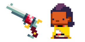 Enter the Gungeon Hunter Rusty Sidearm Curseur