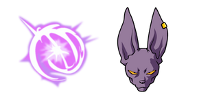 Dragon Ball Beerus Cursor