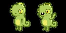 Cute Chameleon Cursor