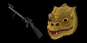 Star Wars Bossk Relby-V10 Mortar Gun Curseur