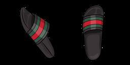 Gucci Flip Flops Cursor