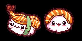 Cute Sushi Curseur