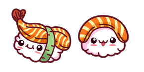 Cute Sushi Cursor