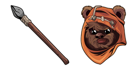Star Wars Wicket Wystri Warrick Ewok Curseur