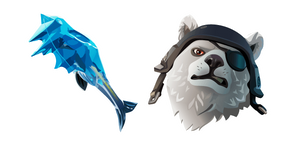 Курсор Fortnite Polar Patroller Skin Fishicles Pickaxe