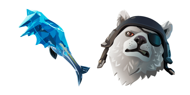 Fortnite Polar Patroller Skin Fishicles Pickaxe