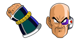 Dragon Ball Nappa Cursor