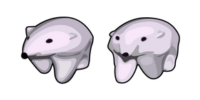 Polar Bear GIF Meme Cursor