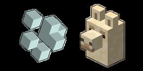 Minecraft Llama Spit and Llama Cursor