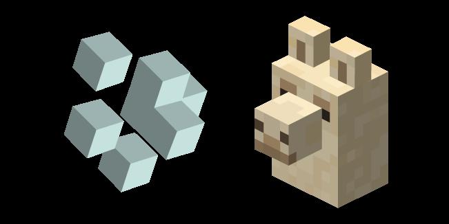 Minecraft Llama Spit and Llama