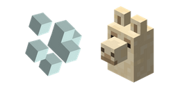 Minecraft Llama Spit and Llama Curseur