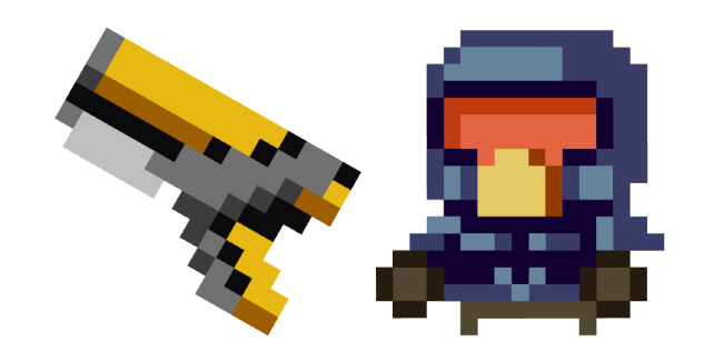 Enter the Gungeon Marine Sidearm