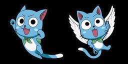 Fairy Tail Happy Curseur