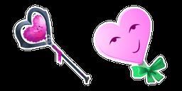 Fortnite Candyman Skin Heavy Heart Pickaxe Cursor