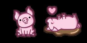 Cute Pig Curseur