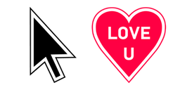 Love U MacOS Cursor