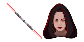Star Wars Dark Rey Red Lightsaber Cursor
