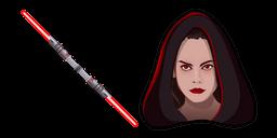 Star Wars Dark Rey Red Lightsaber Cursor