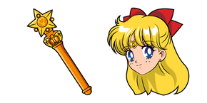 Sailor Moon Sailor Venus Stick Curseur