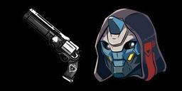 Destiny 2 Cayde-6 and Ace of Spades Cursor