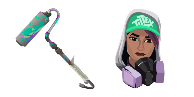 Fortnite Teknique Skin Renegade Roller Pickaxe