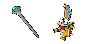 Super Mario Lemmy Koopa Curseur