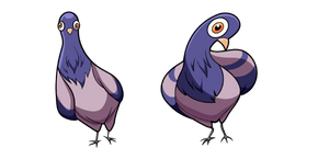 Funny Pigeon Cursor