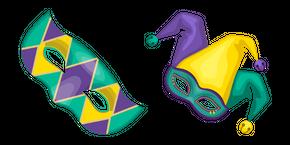 Mardi Gras Masks Cursor