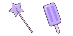 VSCO Girl Star Lollipop and Fruit Pop Curseur