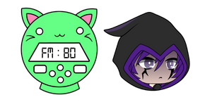Gacha Life Phantom and Neko Radio Cursor